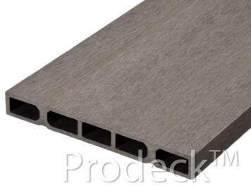 Restpartij • schuttingplank • composiet • vergrijsdbruin • 20 cm • zelfbouw