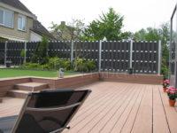 Composiet luxe schutting antraciet aluminium aluminium palen 2411 1
