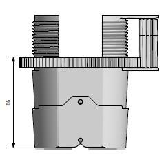 Snelbouw balkendrager • aslon professioneel • staal verstevigd • verstelbaar • extra large • 95-130 mm